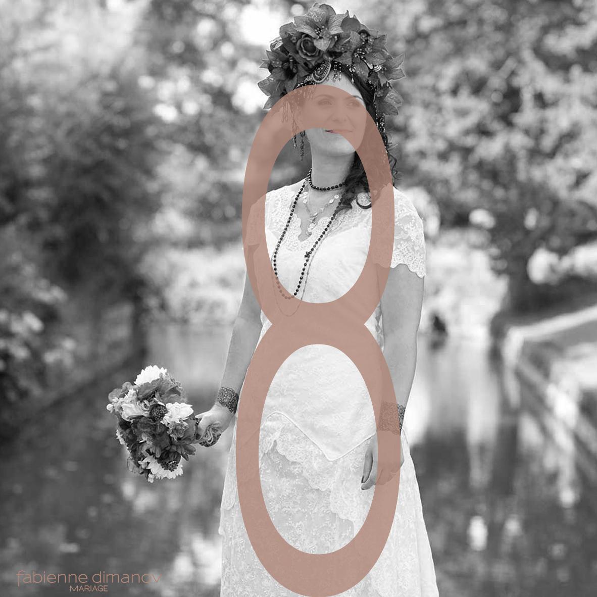 MARIÉE MORPHOLOGIE EN 8 - Fabienne Dimanov Mariage