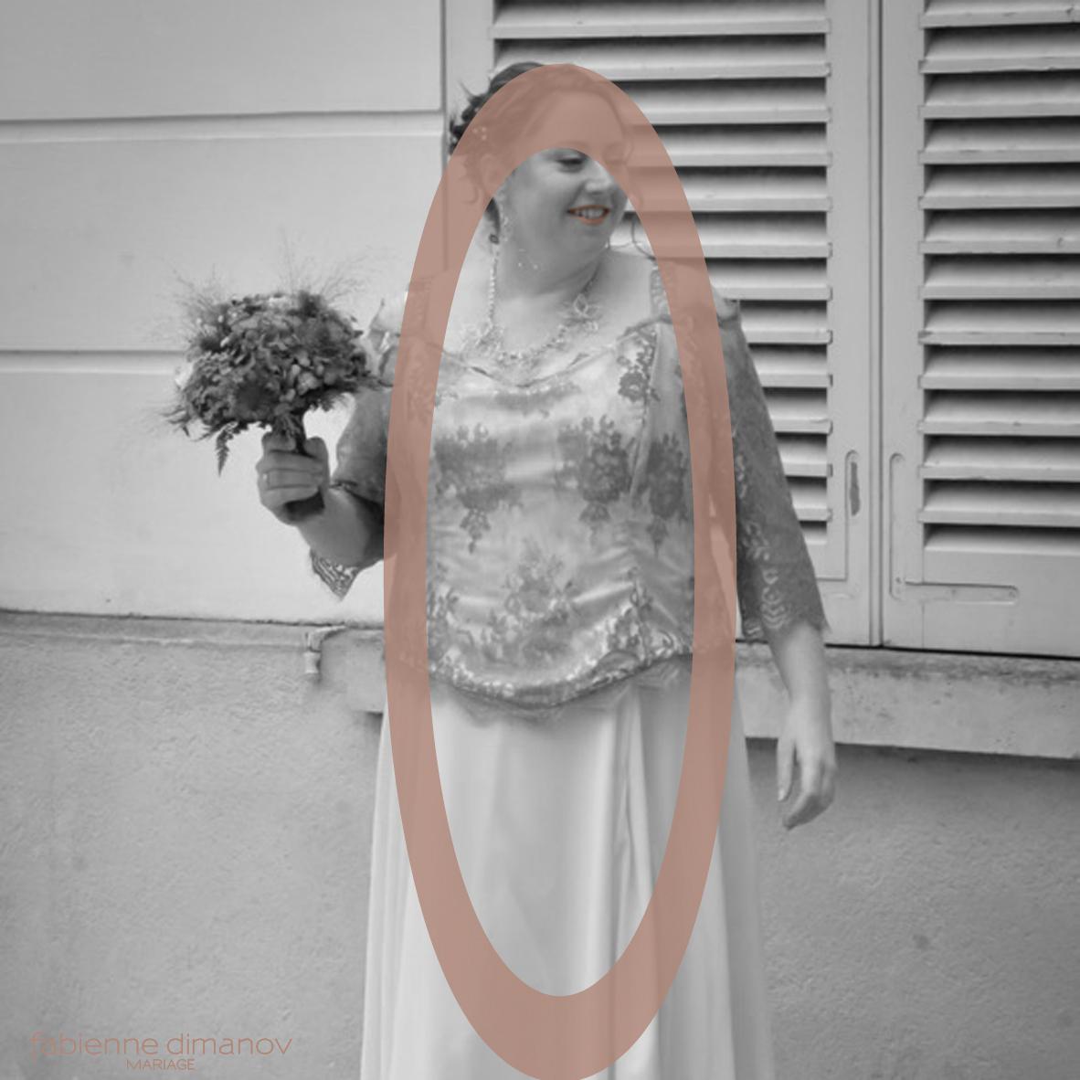 MARIÉE MORPHOLOGIE EN O - Fabienne Dimanov Mariage