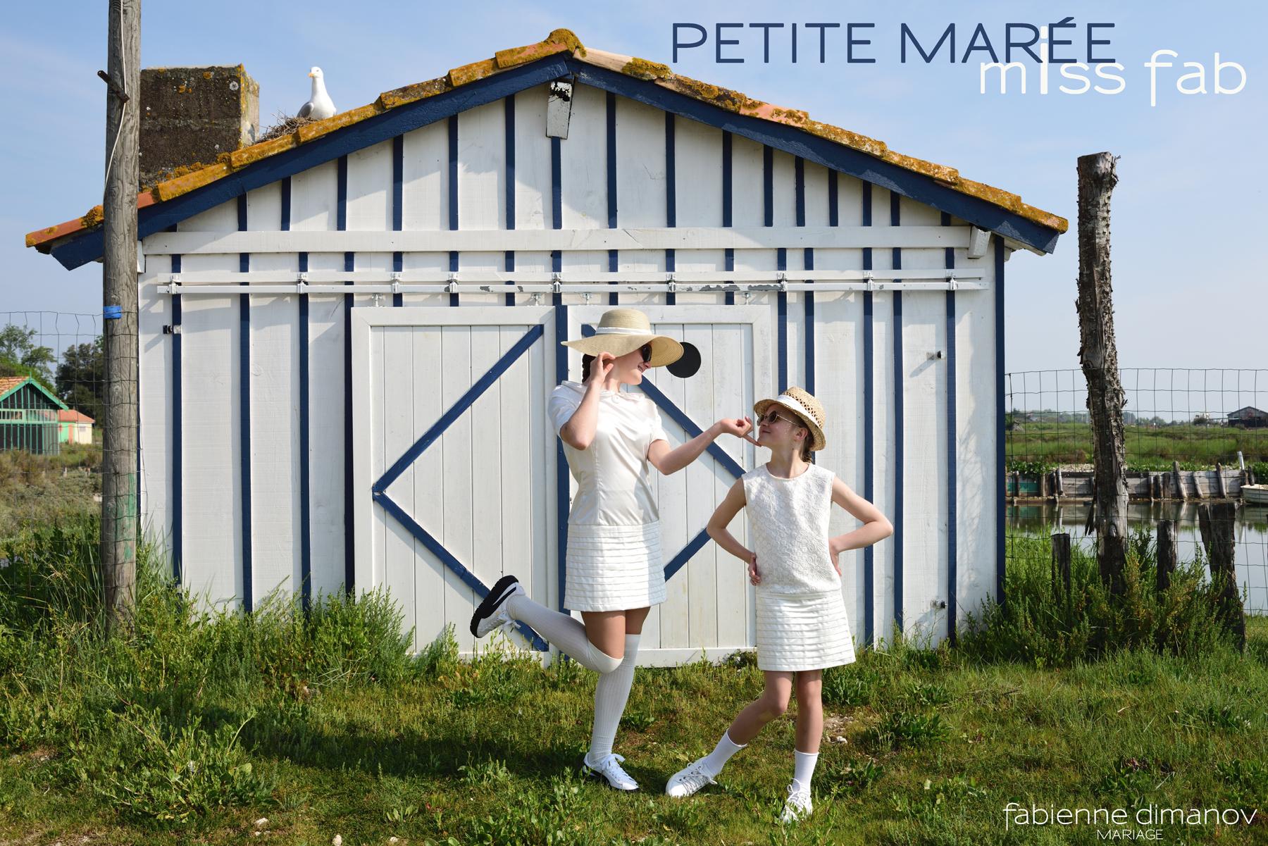 PETITE MARIÉE vs PETITE MARÉE - MISS FAB - Fabienne dimanov Mariage