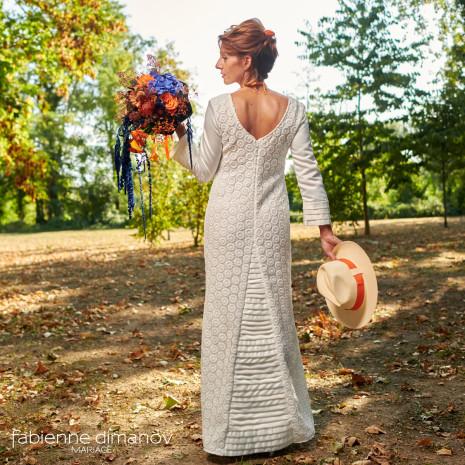 Orange-Blue - mariée rock - Shooting d'inspiration - Mariage Rock Cécile & Junior - photo @larrypictureart