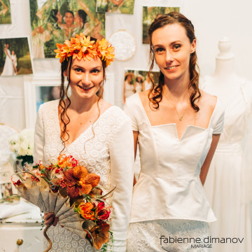 Collection Fabienne Dimanov Mariées 2020 - photo @NicolasVeillat