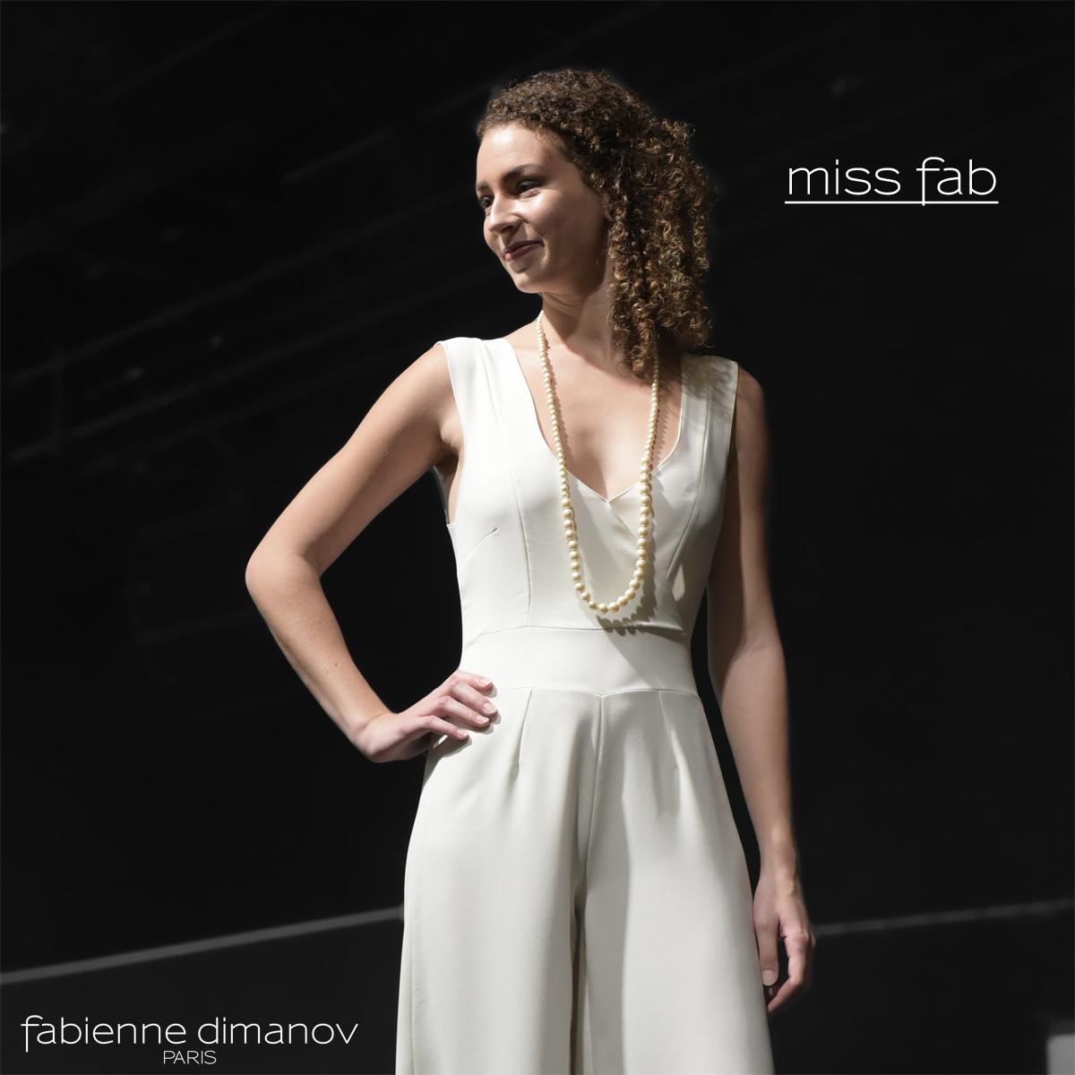 COMBI PATTE D'EPH IVOIRE - Miss Fab - Fabienne Dimanov Paris