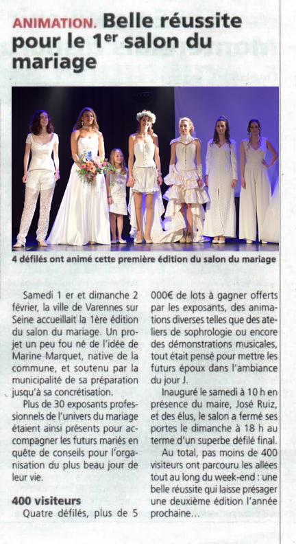 Salon du Mariage de Varennes sur Seine