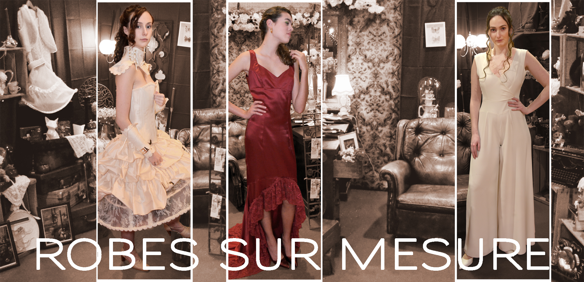 Robes sur mesure - Fabienne Dimanov Paris