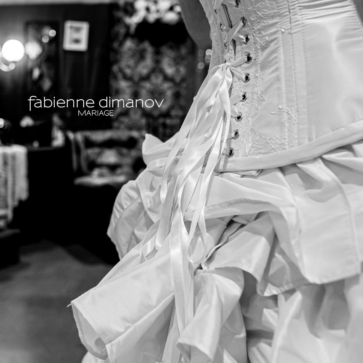 Corset Mariage - Fabienne Dimanov Mariage