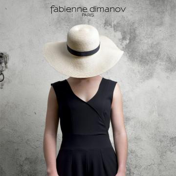 ÉBÈNE - COMBI PANTALON Miss Fab - Fabienne Dimanov Paris
