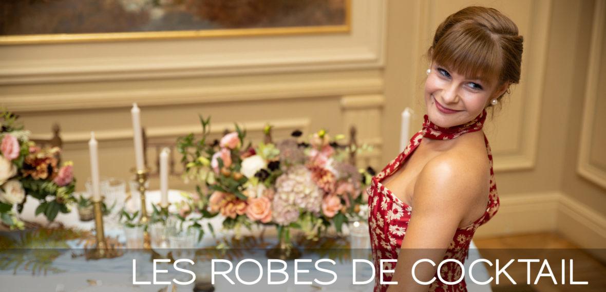 ROBES DE COCKTAIL - Fabienne Dimanov Paris