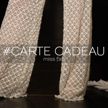 Miss fab - CARTE CADEAU - Fabienne dimanov paris