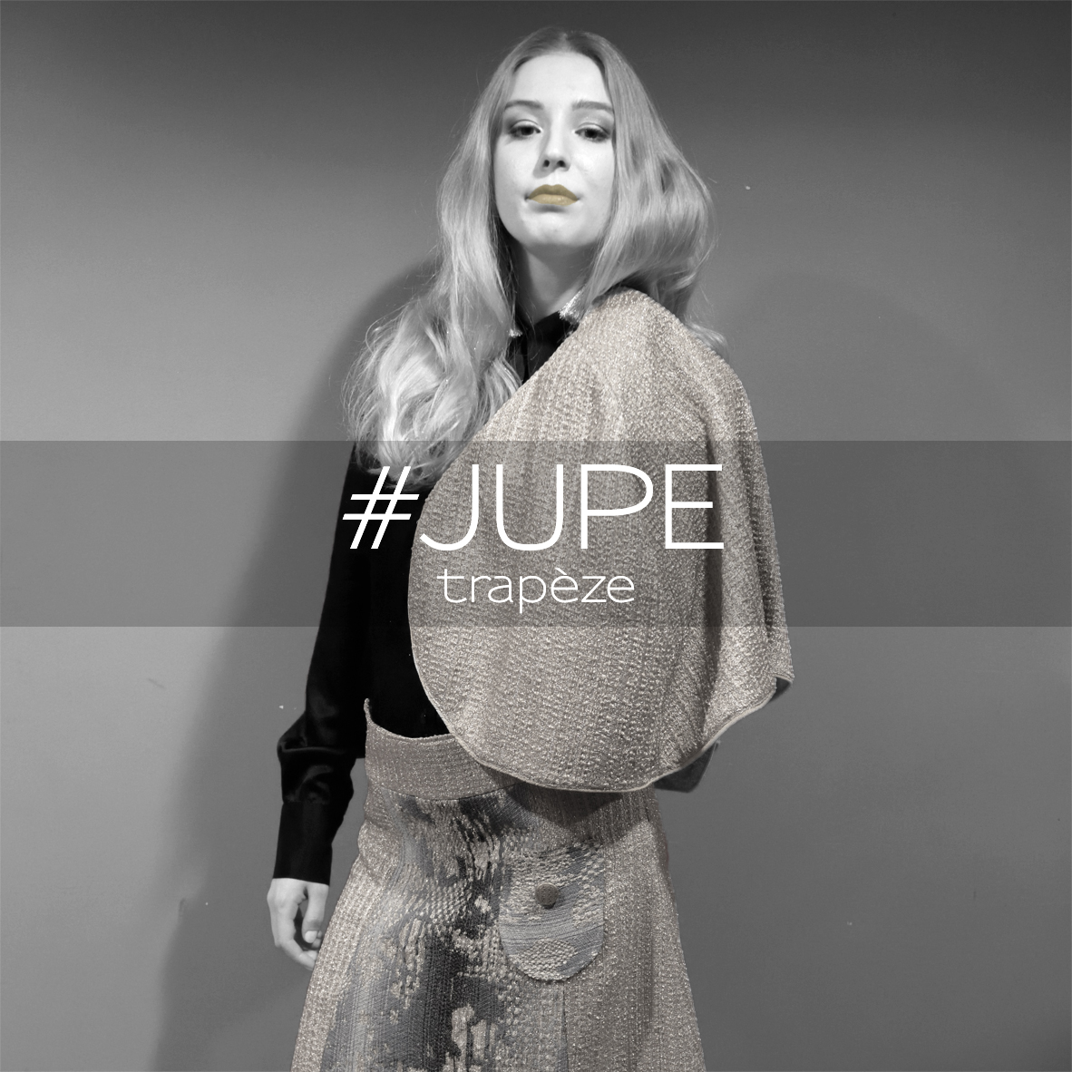 Miss fab - JUPE trapèze - Fabienne Dimanov Paris