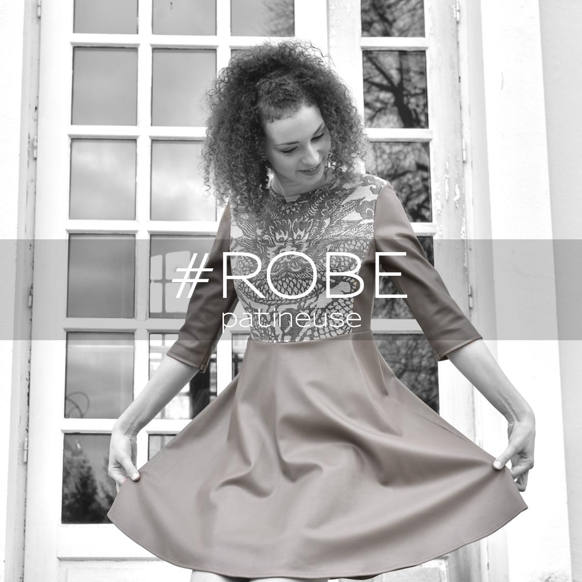 Miss fab - ROBE patineuse - Fabienne Dimanov Paris