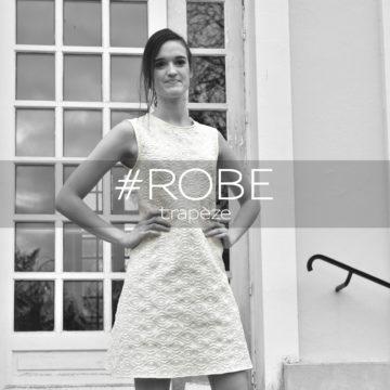 Miss fab - ROBE trapèze - Fabienne Dimanov Paris