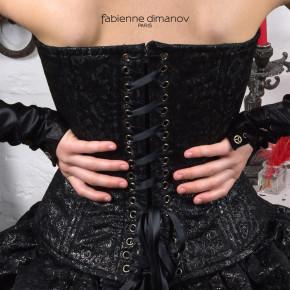Corset Steampunk – Fabienne Dimanov paris