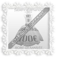 CHEQUE CADEAU OFFERT 100€ SALON – Fabienne Dimanov Mariage