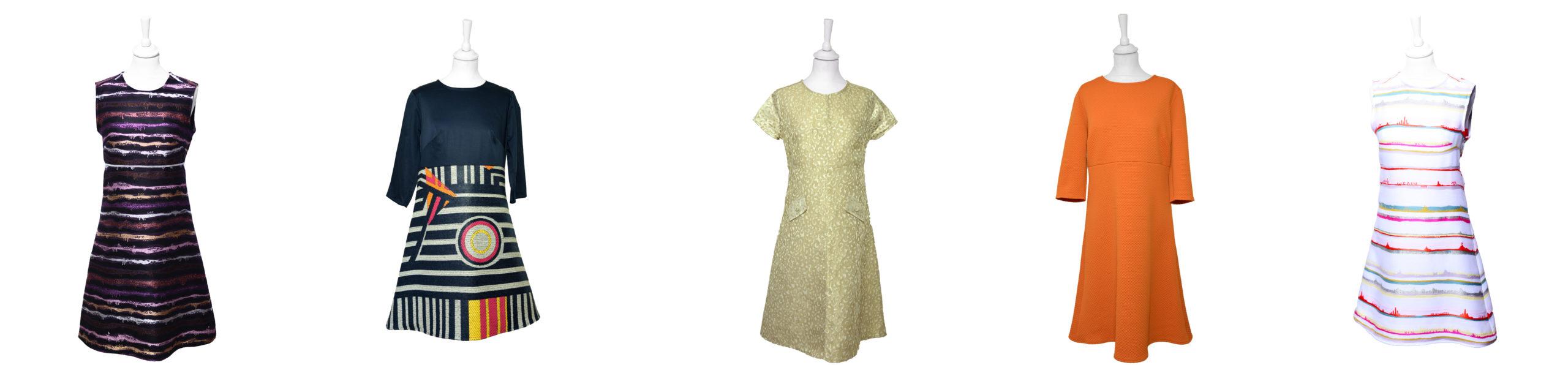 robe trapèze Miss fab - Fabienne Dimanov Paris