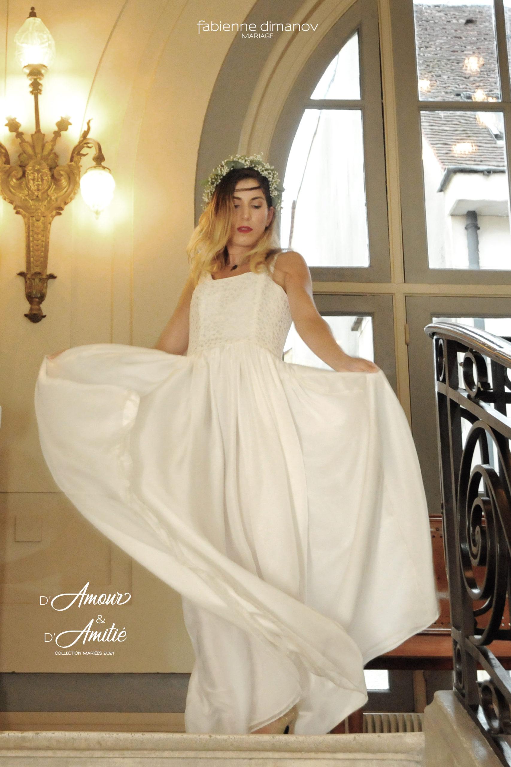 D'Amour & D'Amitié – Mariées 2021 – Robe de mariéeCœur de Lune