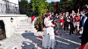 Mariage - Robe de grossesse - Fabienne Dimanov Mariage