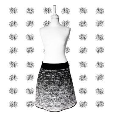 Contraste – jupe trapèze Miss Fab – Fabienne Dimanov Paris