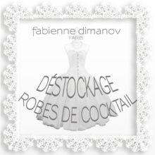 Déstockage robes de cocktail – Fabienne Dimanov Paris