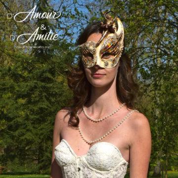 Robe de mariées corset princesse sur mesure - création unique personnalisée -Cœur & Âme - D'Amour & D'Amitié - Fabienne Dimanov Mariage