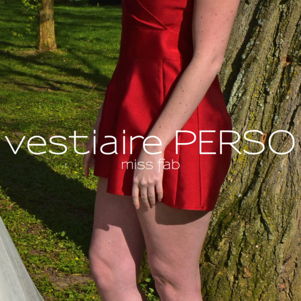 Vestiaire personnalisé écoresponsable - Miss Fab - une petite robe à part - Amour Pourpre - D'Amour & D'Amitié - Fabienne Dimanov Paris