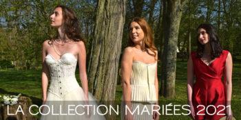 Collection Mariées 2021 - D'Amour & D'Amitié - saison 2 - Fabienne Dimanov Mariage