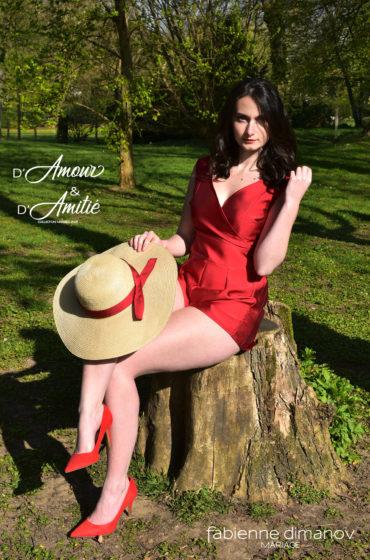 Amour Pourpre – D'Amour & D'Amitié – saison 2 – Miss fab – Fabienne Dimanov Paris