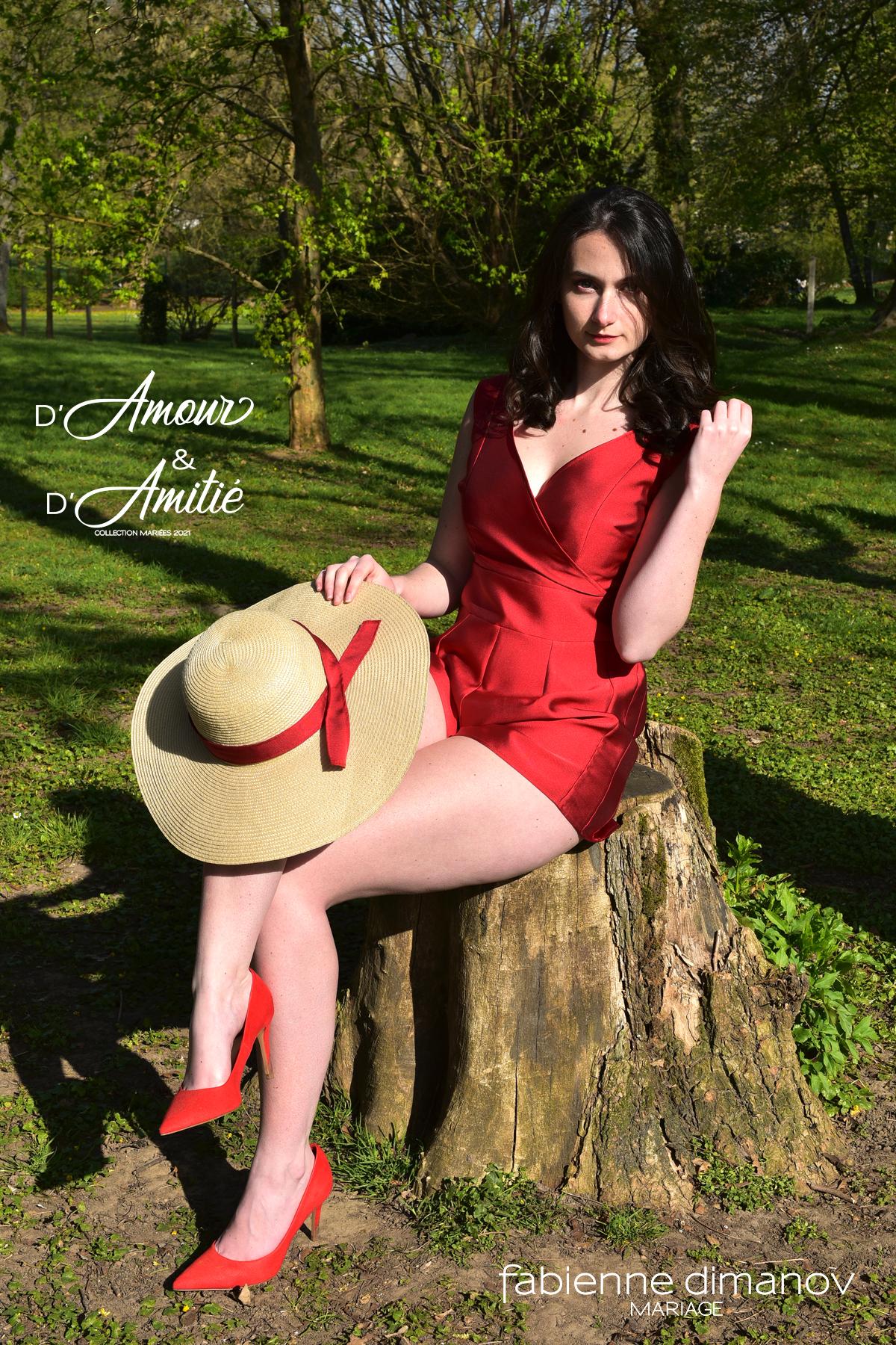 Amour Pourpre - D'Amour & D'Amitié - saison 2 - Miss fab - Fabienne Dimanov Paris
