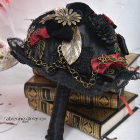 BOUQUET DE LA MARIÉE STEAMPUNK – Fabienne Dimanov Paris